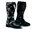 Sidi Agueda Off Road Motocross Boot Black Size US 9.5 EU 43
