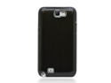 MiniSuit Aluminum Brushed Case for Samsung Galaxy Note 2 (Black)