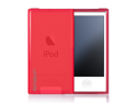 MiniSuit FLEX Rubber Soft Slim Case for Apple iPod Nano 7 (Frost Red)