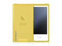 MiniSuit FLEX Rubber Soft Slim Case for Apple iPod Nano 7 (Frost Yellow)