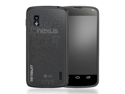 MiniSuit Frost Case for LG Google Nexus 4 TPU Silicone Skin Cover (Frost Smoke Gray)