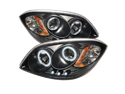 Cobalt 05-10 Pontiac G5 07-09 Pursuit 05-06 CCFL LED Projector Headlights Black