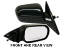 HONDA ACCORD 98-02 SIDE MIRROR RIGHT PASSENGER, KOOL-VUE, NEW!