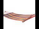 "New Outdoor Camping Stripes Hammock Sleeping Bed w/ Wood Spreader Bar - 70.7"" x 31.5"""