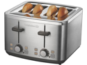 Calphalon Kitchen Electrics 4 Slot Stainless Toaster
