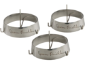 Steven Raichlen Set of 3 Grill Rings