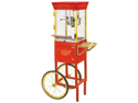 Nostalgia Electrics 38x19-in. Vintage Collection Circus Cart Popcorn Maker, Red