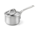 Calphalon 1-qt. Stainless Steel AccuCore Saucepan with Cover