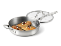 Calphalon 3-qt. Stainless Steel AccuCore Saute Pan with Cover