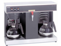 Bunn 12-c. Automatic Commercial Coffee Brew with Two Warmers