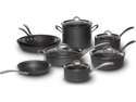 Calphalon 13-pc. Hard-Anodized Aluminum Commercial Hard-Anodized Cookware Set