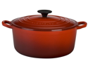 Le Creuset Signature Enameled Cast-Iron 3-1/2-Quart Round French Oven