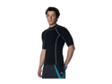 Neosport Men's Lycra Loosefit Rashguard - Black Medium (Size 8-10)