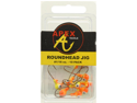 JIG HEADS 1/16 OZ 10PK CH/OR