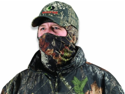 Mossy Oak 3/4 Headnet with Spandex (Obsession, One Size)