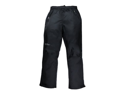 Red Ledge Men's Free Rein Full-Zip Pant Full Side Zip Rain Pant,Obsidian,Large