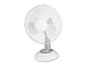 Lorell LLR44551 12in. Oscillating Fan- 3 Speeds- 13-.94in.x11-.50in.x1-.50in.- LGY