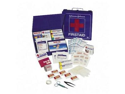 Johnson & Johnson JOJ8162 First Aid Kit- 227 Pieces For Up To 50 People- Metal Shell