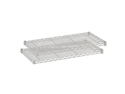 Safco 5287GR Wire 2 Shelf Pack