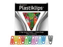 Baumgartens BAULP1700 Plastic Paper Clips- X-Large- Assorted Colors