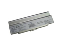 Compatible for Sony VAIO VGN FJ290L1G 12 Cell Silver Battery