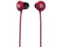 RED M&M EARBUDS