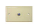 EAGLE ASPEN DTVWP-81I 3 GHZ WALL PLATE (IVORY)