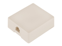 GE 76101 Surface-Mount Jack (Almond)