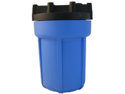 Pentek 158002 3/8 #5 Blue/Black Water Filter Housing W/ Pressure Release