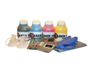Laser Tek Services ® 4 Pack B/C/M/Y Toner Refill Kit with chips for Dell 1320 1320C 310-9058 310-9060 310-9064 310-9062