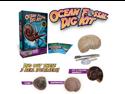 Ocean Fossil Excavation Kit! Dig 3 Genuine Specimens! Kids paleo digging science
