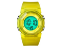 FMD Translucent Yellow Plastic Unisex Watch FMDX249