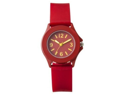 FMD Red Smooth Rubber Womens Watch FMDX222