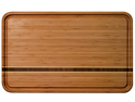Totally Bamboo Dominica Cutting Board Caribbean Collection