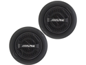 "Alpine SPR-10TW 1"" Silk Dome Car Tweeters"