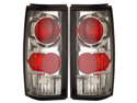 82-93 Chevy Blazer Tail Lights Chrome Lamps