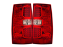 07-08 Chevy Tahoe LED Tail Lights Red/Clear