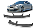 10-12 Hyundai Genesis Coupe Pd Front Bumper Lip Spoiler Poly Urethane