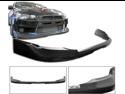 08-10 Mitsubishi Lancer Evo X Real Carbon Fiber Front Bumper Lip Spoiler