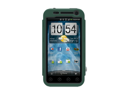 Green Black OEM Trident Kraken AMS Hard Silicone Case Cover W Screen Protector & Belt-clip, KKN2-EVO-3D-BG For HTC EVO 3D