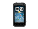 Black OEM Trident Kraken AMS Hard Silicone Case Cover W Screen Protector, Kickstand, & Belt-clip, KKN2-EVO-3D-BK For HTC EVO 3D