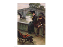 Richmond Bridge, c.1878 Poster Print by James Jacques Joseph Tissot (18 x 24)
