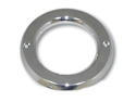 "4"" Chrome Flange Mount Grommet Cover for Truck Lights"