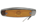Grote 45663 Low profile Peterbilt Clearance Marker Light Amber