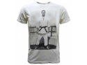 Gracie Jiu-Jitsu Young Helio Vintage Men's T-Shirt - Small - Cream