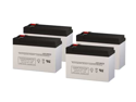 Alpha Technologies 2000RM UPS Replacement Batteries - Pack of 4