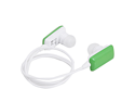 Green Stereo Bluetooth Headphone Earbuds w/ Built-in Microphone