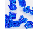 Acrylic Ice Chips table scatter confetti Floral Arranging Vase filler 1lb bag - Color: Royal Blue