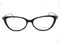 Kate Spade Maura Eyeglasses-In Color-Tortoise Cobalt (0X17)-Size-50/15/130