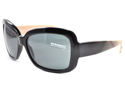 BURBERRY Sunglasses BE 4074 300187 Shiny Black 58MM